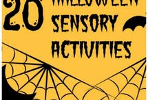 Sensory Crafts for Halloween / It's the perfect time of year to get creepy and kooky, mysterious and spooky with this all-together ookie collection of sensory craft ideas and activities we've pinned together! Happy Halloween! / by eSpecial Needs