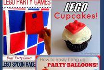 Lego party favours
