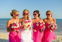 Destination Wedding mulit coloured Flower Bouquets