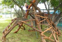 Climbing play spaces