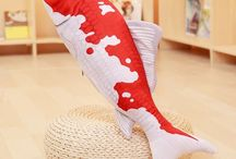 Koi fish Plush Toys