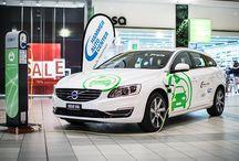 Elektromobilität mit Volvo / Ausstellung im Emmen Center zum Thema Nachhaltigkeit und Elektromobilität. #volvo #V60 Plug-in Hybrid #auto #strom #energie #umwelt http://www.shopping-erleben.ch/blog/vom-bmw-zum-strom