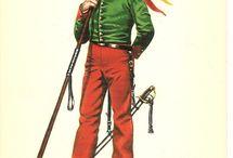 Delfín Salas, Napoleonic Wars & Carlist Wars