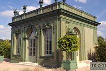 Treillis de façade et jardin / Décoration des façades