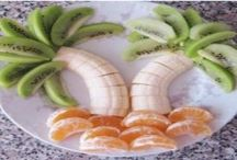 Healthy Eating: Fun Snack Ideas for Kids / How to make healthy eating fun for kids!