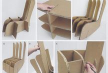 arredamento in cartone
