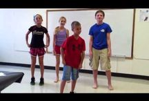Preschool jazz dance