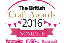 "British Craft Award Nomination! / I'm thrilled to share the news that our Lapdog ""Craft Anywhere"" Tray has been nominated in the British Craft Awards! It's in the ""Best New Craft Gadget"" category! Please vote for us if you love Lapdog! (www.britishcraftawards.com)"