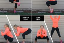 Squats abs workouts