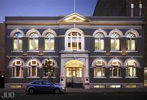 Trades Hall / corporate fitout  + Unit 19, 74-82 Beaufort Street, Perth + $2,225,000 + 787m2 + 2013 + Full design service