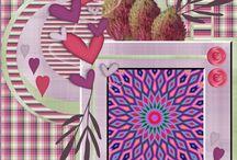 Feb.2016 freebies lo's van HSA /Eileen / lo,s van freebies / kits van Happy Scrap Art - Eileen