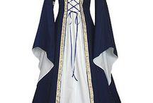 trajes medievales