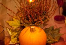 Fall Table Settings & Centerpieces