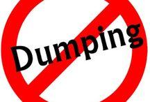 Anti Duming / Jika kebijakan anti dumping sampai dicabut oleh pemerintah maka negara akan terancam kolap. Dukung KADI dan kampane Indonesia Anti Dumping. Save produk nasional.