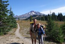 """Pacific Crest Trail / The movie """"Wild"""" tells the true story of one woman's solo hike along 1,100 miles (1,770 km) of the Pacific Crest National Scenic Trail. Known as the PCT, the 2,650 mile (4,265 km) wildland route connects Mexico and Canada, with 457 (735 km) of those miles in Oregon. There are three PCT trailheads in Lane County."""
