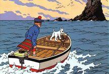 Tintin / Adventures in misadventures.