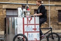 Coffee Cart/ Hot dog stand / by Stefanie Pickerd