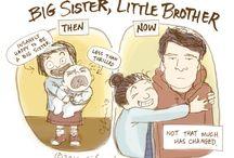 Broertjes en zusjes