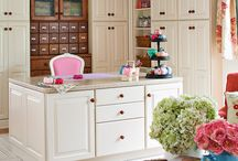 Inspiring Crafting Spaces / by Katie Powell