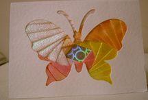 Iris Folding - butterflies / by April Buentello