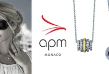 APM MONACO! Unique Jewelry Gold and Silver 925 with Zircon!