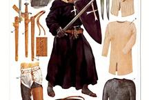 Medieval knight (armors)