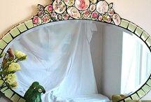 miroir mosaic