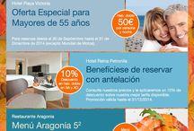 Newsletters / Descubre nuestras ofertas de alojamiento mensuales y propuestas gastronómicas