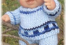 knitting/crochet for dolls