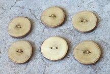 wood buttons / Handmade branch buttons,jewelry,and new ideas every day.