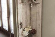 Decor lemn vintage