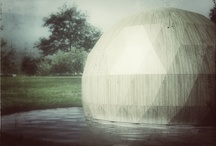 Birdhouse pavillion / Bended wooden structure