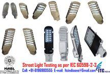 Street Light testing as per IEC 60598-2-3 / Street Light testing as per IEC 60598-2-3 If you're Buyers Demanding for Testing– Contact Now! Mr. Puneet Sharma Call: 08196980555 Email: ITCIndiaOne@Gmail.Com