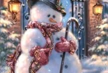 Hiver fêtes Noël