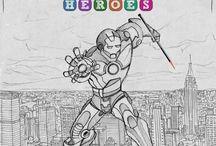 Super heroes week