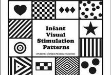 Black and white / Visual stimulation infant