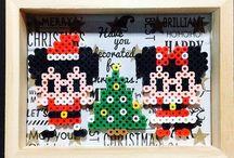 アイロンビーズ クリスマス