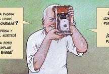 Concurso de Cazador de Sonrisas / Si tienes en tu poder un ejemplar del cómic CAZADOR DE SONRISAS, estas fiestas tienes regalo. Participa en el concurso de UNA ESTUPENDA PÁGINA ORIGINAL del cómic CAZADOR DE SONRISAS http://www.grafitoeditorial.com/concurso-cazador-de-sonrisas/