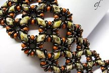 O Beads / We love creations with these new glass beads!  We have them in stock now!