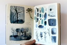 Art Journals & Drawings