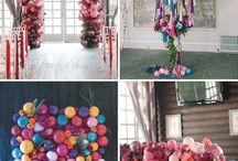 Balloons & flowers