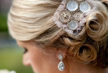 Here Comes The Bride / Bridal Hair & Makeup Inspirations