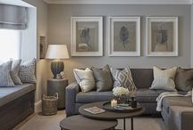 Grey living rooms