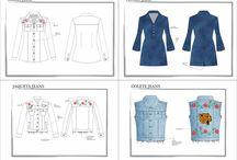 Desenhos Técnicos / Pacotes EXCLUSIVOS de desenhos para sua coleção de acordo com seu público alvo.