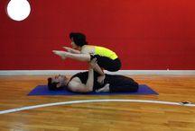 Partner yoga / Niraj Malik & Xio Hu