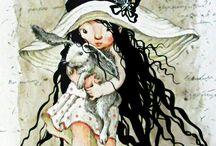 Иллюстрации Снежанны Чениной