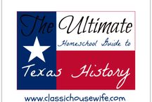 Homeschooling - Texas History