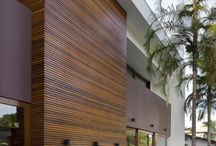 Wood cladding exterior