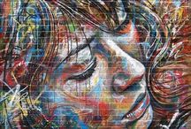 """Graffiti and Street Art ♡ / """"...If your back's against the wall, turn around and write on it!..."""""""
