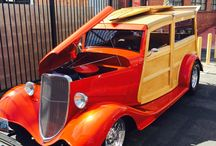 Woodies in the Park 7/11/15 / Woodies car show